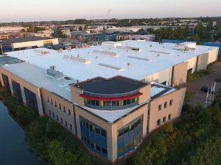groot dak siliconen dakbedekking