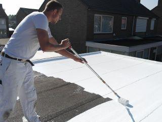 klein dak siliconen dakbedekking