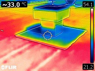 siliconen vergelijking warmtecamera